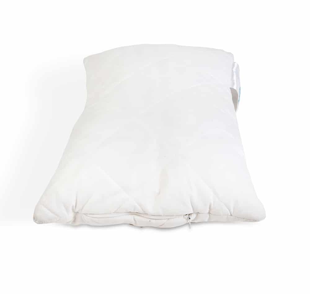 kühlendes Faserbällchenkissen 60x40 cm, allergikergeeignet, höhenverstellbar -119