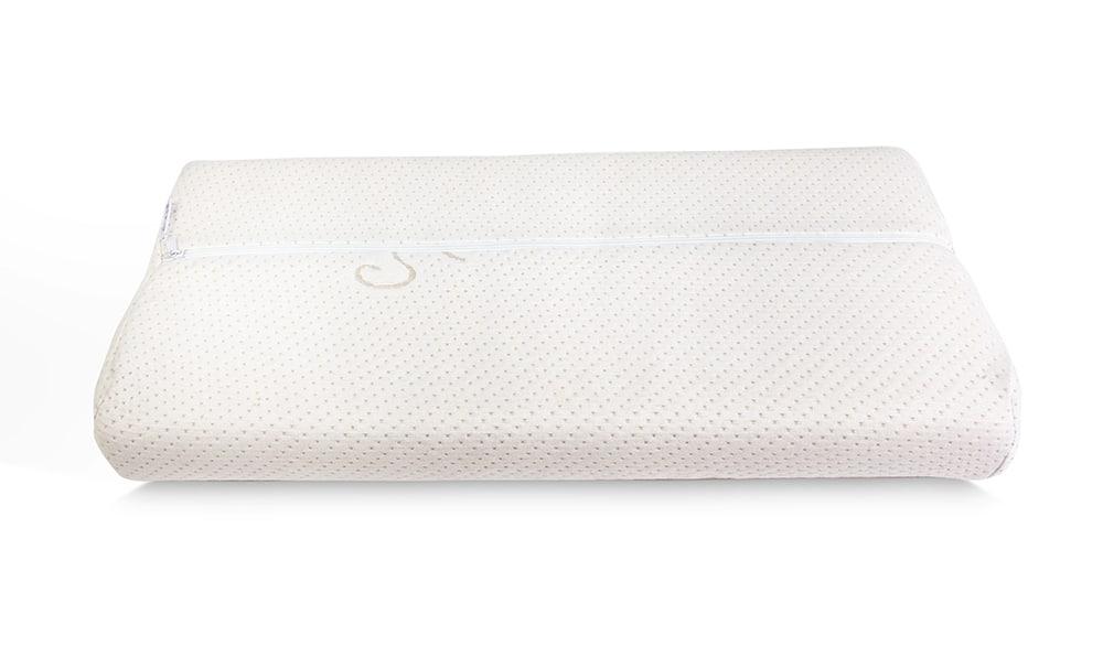 Premium Viscokissen Royal 70x35cm, Bezug mit antibakteriellen Silberfäden -114